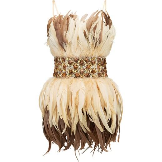 745398ecfa Sukienka La Poudre™ na sylwestra na ramiączkach gorsetowa w Domodi