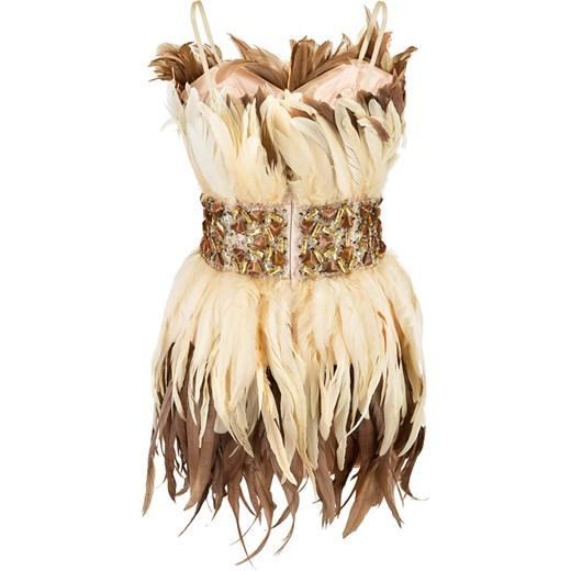 4a26f3123f ... La Poudre™ sukienka na sylwestra mini gorsetowa na ramiączkach ...