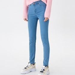 27786871c613cb Niebieskie jeansy damskie House w miejskim stylu