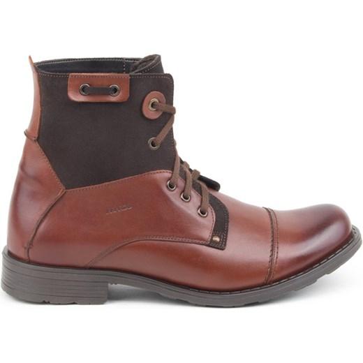 7647cb64 Brązowe buty zimowe 40 41 42 43 44 45 Akardo 44 AKARDO.pl wyprzedaż