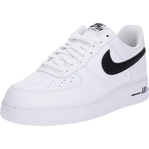 926f5177645e8 Białe buty sportowe męskie Nike Sportswear air force ze skóry młodzieżowe  ...