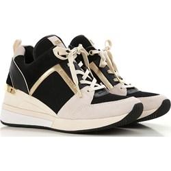 50a6a24896442 Michael Kors sneakersy damskie bez wzorów wiązane wiosenne młodzieżowe na  koturnie