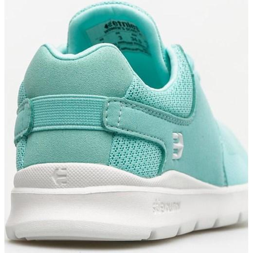 Buty sportowe damskie Etnies na fitness zamszowe bez wzorów