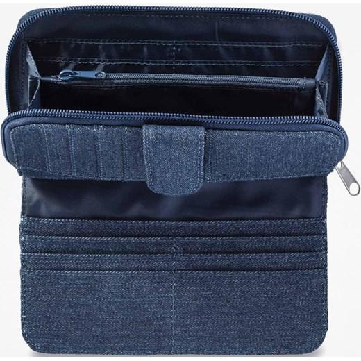 2e58fe3f6f150 Dakine portfel damski casualowy niebieski z nadrukami · Dakine portfel  damski z nadrukami casualowy ...