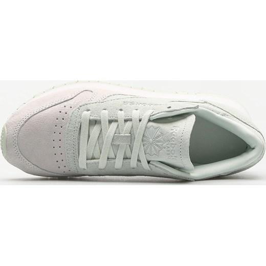 a0c15020e9b7a ... Buty sportowe damskie szare Reebok sneakersy sznurowane bez wzorów  eleganckie ...