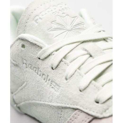 82484407e7e15 ... Buty sportowe damskie Reebok sneakersy bez wzorów eleganckie sznurowane  z zamszu ...