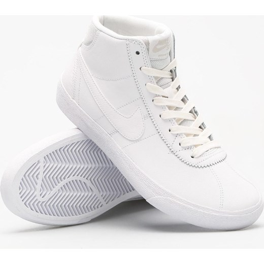 e9f78f2c50b9 Buty Nike SB Bruin Hi Wmn (white white vast grey) promocyjna cena ...