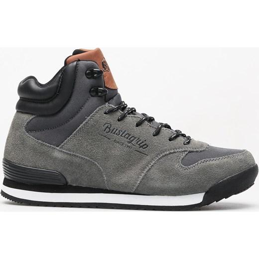 dobry Bustagrip buty zimowe męskie brązowe skórzane na zimę