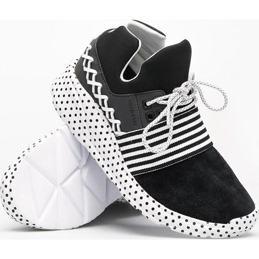 piękny Buty sportowe damskie Supra sneakersy z zamszu