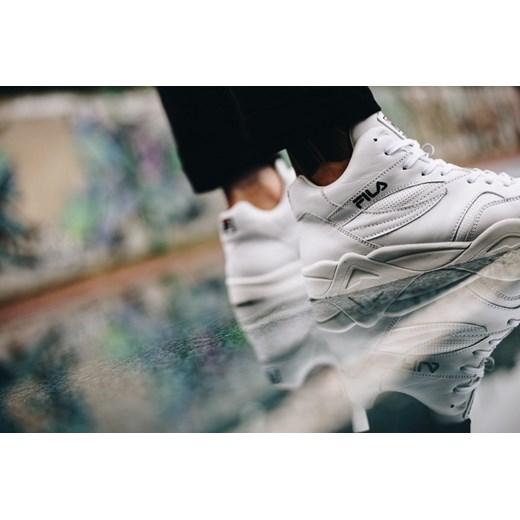 Buty sportowe męskie czarne Fila młodzieżowe Buty Męskie UH