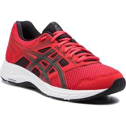 Buty sportowe męskie czerwone Asics sznurowane ... a2acdca7f9
