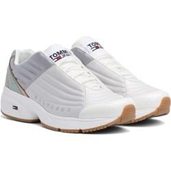cbd3a541d9188 Sneakersy damskie Tommy Hilfiger gładkie na platformie sznurowane