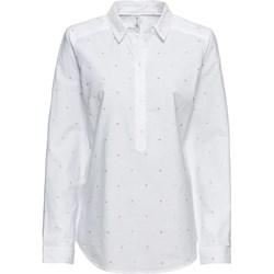 Rewelacyjny Białe bluzki koszulowe damskie bonprix, lato 2019 w Domodi UK79