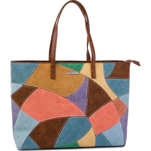 ddb744cb1a445 Wielokolorowa shopper bag Desigual w Domodi