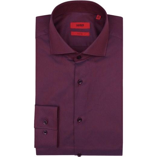 e46ae6194a7ec Koszula męska różowa Hugo Boss z klasycznym kołnierzykiem z długimi rękawami