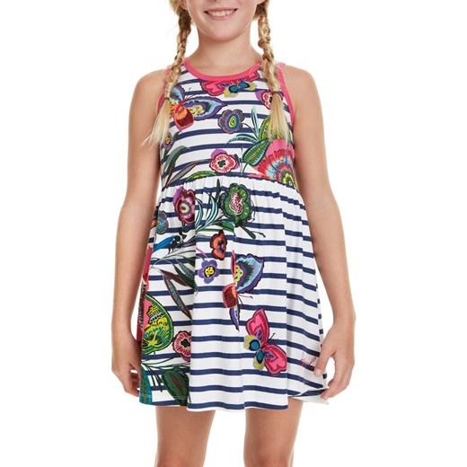 abbbee5941 Sukienka dziewczęca Desigual z nadrukami  Sukienka dziewczęca Desigual z  nadrukami
