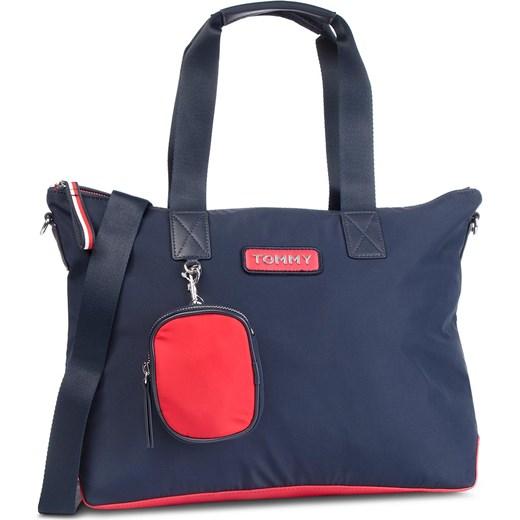 576d71883fe0c Shopper bag Tommy Hilfiger casualowa w Domodi