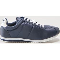 63c25855 Buty sportowe damskie House sneakersy młodzieżowe granatowe sznurowane