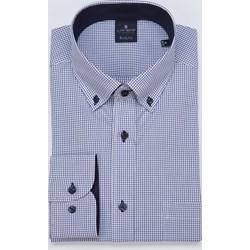 0c1f193e53e6a0 Koszula męska Lanieri niebieska bawełniana