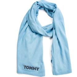 698df0e929 Szalik chusta Tommy Hilfiger niebieski casual ...