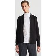 993516e1ea836 Czarna bluza męska Reserved jesienna
