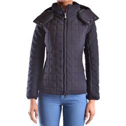 73c5600a7b Rossignol kurtka damska z kapturem bez wzorów niebieska długa