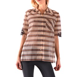 20ee0cafa7b60 Koszula damska Fendi bawełniana w paski