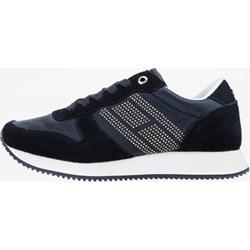 9f95bd68b2464 Granatowe buty sportowe damskie tommy hilfiger