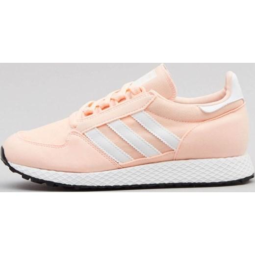 1a38c1cb Buty sportowe damskie Adidas na fitness na wiosnę na koturnie sznurowane  gładkie