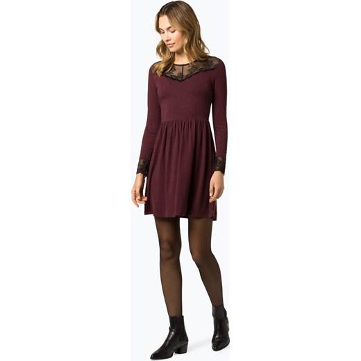 288b3360dd Sukienka Only jerseyowa trapezowa na uczelnię bez wzorów w Domodi