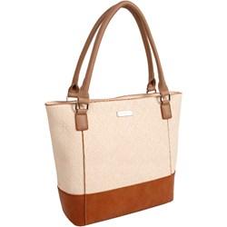 667d1c43503a0 Shopper bag beżowa Doca