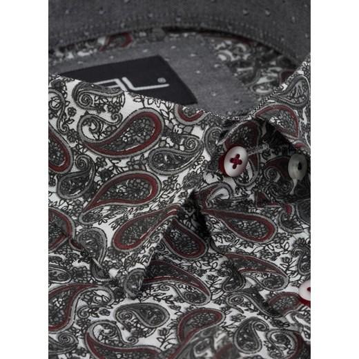 Bluza męska Hollister z napisami Odzież Męska UW czarny