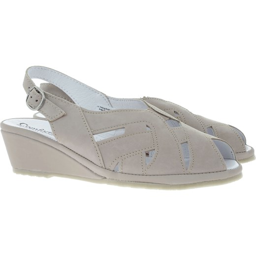 Sandały damskie Riccardo skórzane