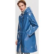 2ceb5a3f06 Płaszcz damski niebieski Reserved