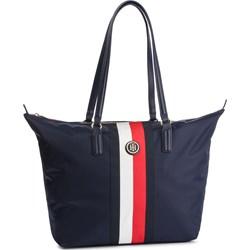 132835095b69c6 Shopper bag Tommy Hilfiger bez dodatków matowa na ramię ...