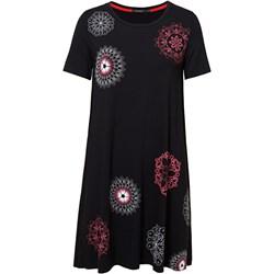 405eea5e5e Czarna sukienka Desigual na uczelnię