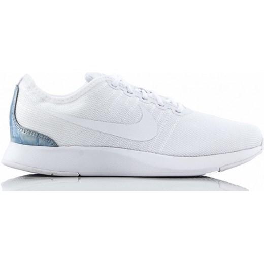 Buty sportowe damskie białe Nike do biegania bez wzorów
