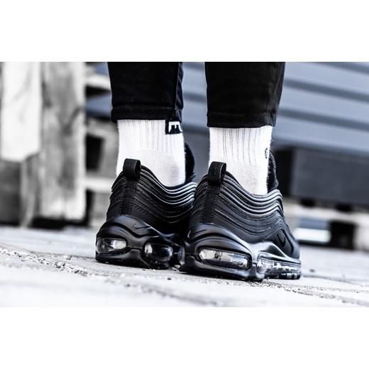 Buty sportowe damskie Nike dla biegaczy czarne na płaskiej