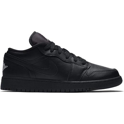 Air Jordan 1 Low Bg 553560-006 Brand czarny ButyMarkowe w Domodi 74129e06937