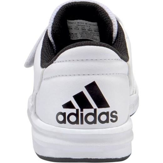 a579fdf9b807b ... Adidas Performance buty sportowe dziecięce białe bez wzorów na rzepy ...