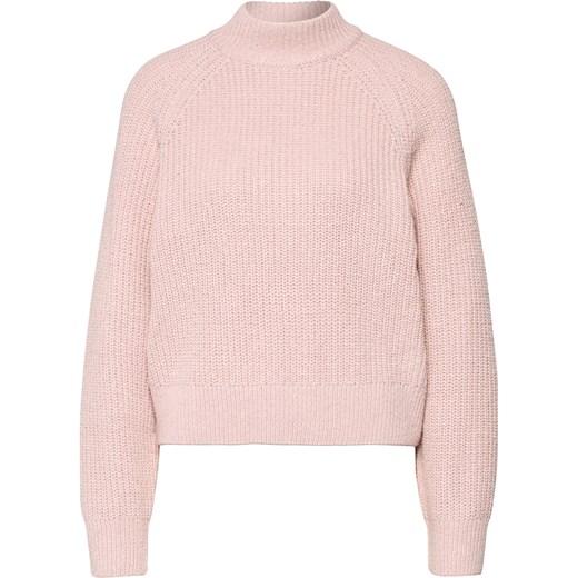 8cfd648fff35af Różowy sweter damski Edited w Domodi