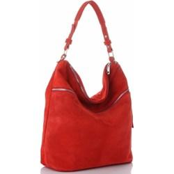 0665a83088615 Shopper bag Genuine Leather bez dodatków skórzana