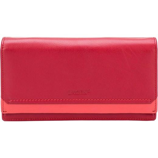 24e5877e3b535 Lagen Kobieta czerwony skórzany portfel Red R / C 10181, BEZPŁATNY ODBIÓR:  WROCŁAW!