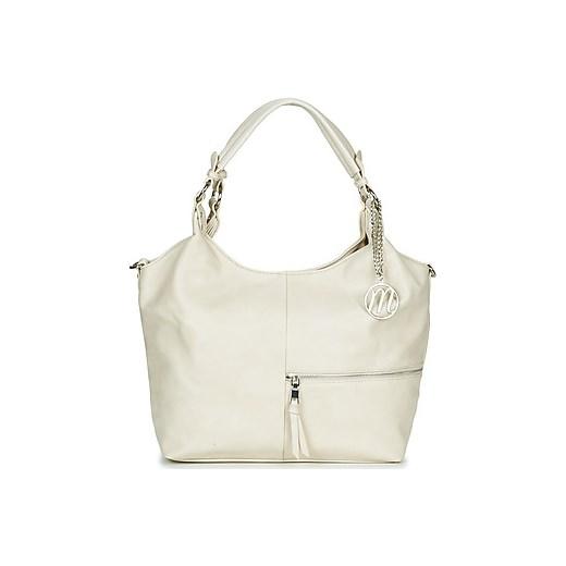 9d99b38b13363 Shopper bag Moony Mood średnia młodzieżowa matowa do ręki bez dodatków