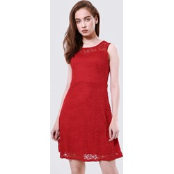6b9f08912a98 Born2be sukienka z okrągłym dekoltem mini bez rękawów