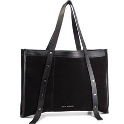 daa31864be903 Czarna shopper bag Eva Minge