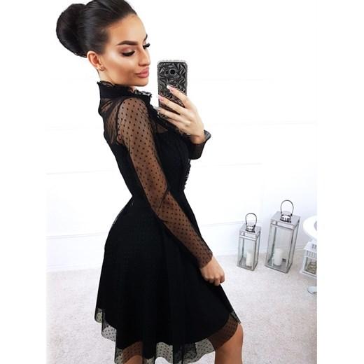 3993aa4b5c ... Sukienka Magmac mini z długimi rękawami ...