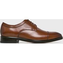 9414733d Brązowe buty eleganckie męskie, lato 2019 w Domodi