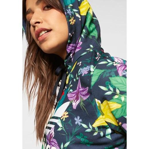 Bluza damska Adidas Originals w kwiaty krótka