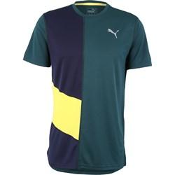 929673497 Wielokolorowa koszulki sportowe męskie puma, lato 2019 w Domodi